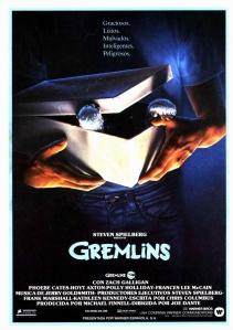 Gremlins poster españa