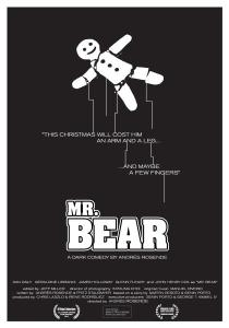 Mr bear poster cortometraje